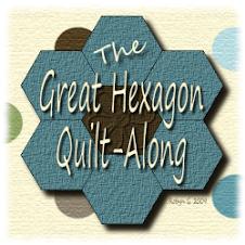 Hexagon quilt-along