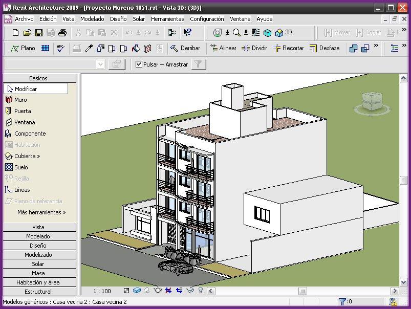 Revit structure 2009 es igual a revit architecture for Programa para hacer edificios en 3d