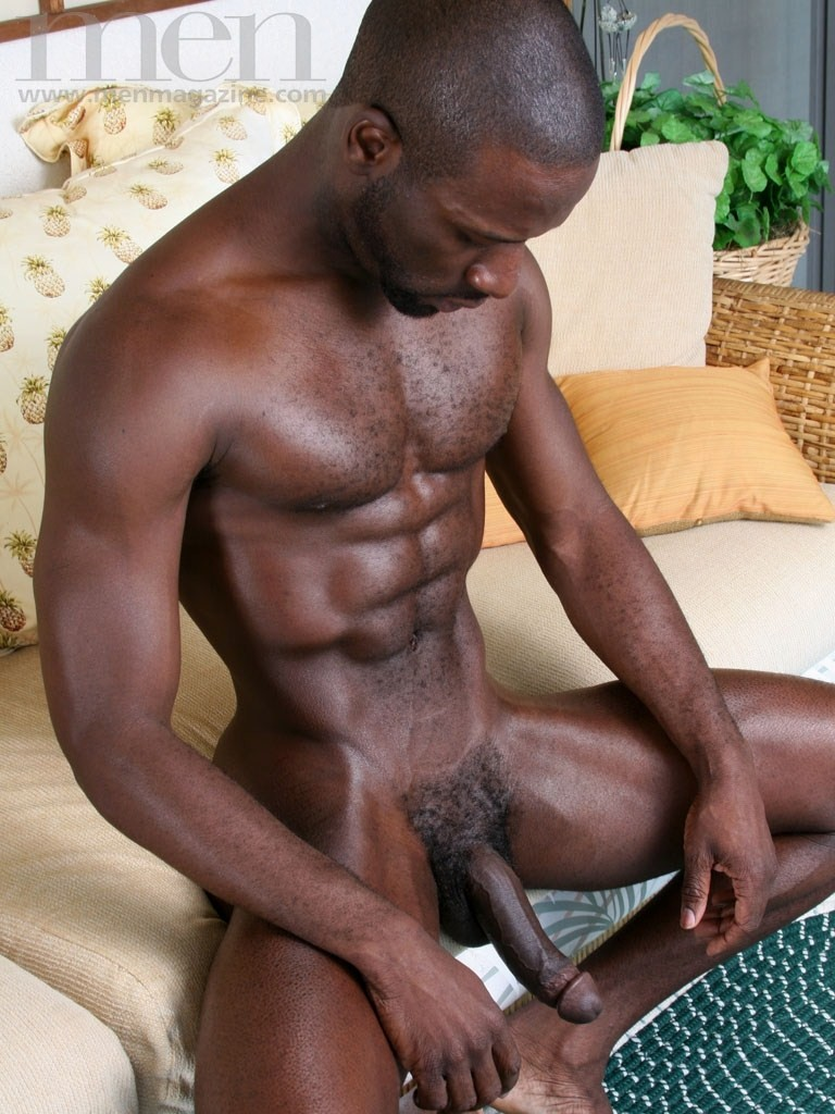 from Chance big hard black cock gay
