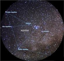 La constelación del Águila