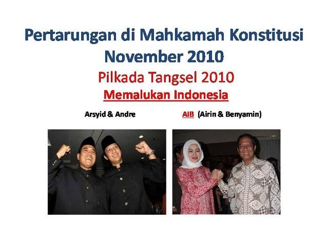 pertarungan airin rachmi diany vs andre stinky taulani di mk 2010