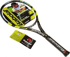 esta es mi raqueta
