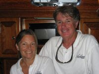 Tom & Christie of charter yacht ASHLANA