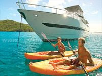 Charter yacht RUNAWAY in the Virgin Islands with Paradise Connections