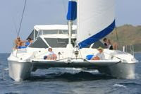 Charter catamaran MAROLANGA in the Virgin Islands with Paradise Connections Yacht Charters