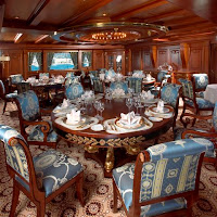 SS DELPHINE - Dining Room - Contact ParadiseConnections.com