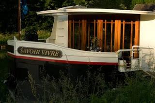 French Hotel Barge SAVOIR VIVRE