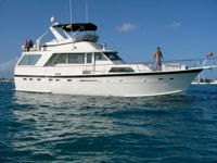 Charter Motor Yacht ANALISA for Christmas at their normal, all inclusive rates - Contact ParadiseConnections.com