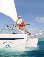 Charter catamaran TRUE NORTH in the Caribbean with ParadiseConnections.com