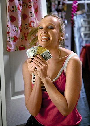 toni collette 2010. Toni Collette playing T,