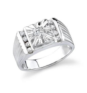 Diamond Jewellery Men 39s Platinum Rings