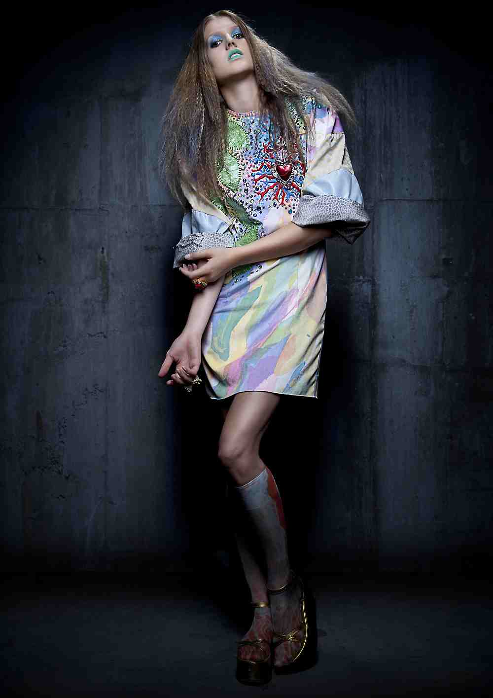 Spotlight: Designer Franco Moschino exclusive photo