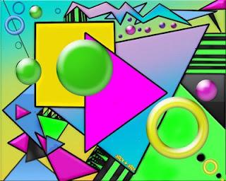 Para ense ar las figuras geom tricas ni os dinamicas y for Cuadros con formas geometricas