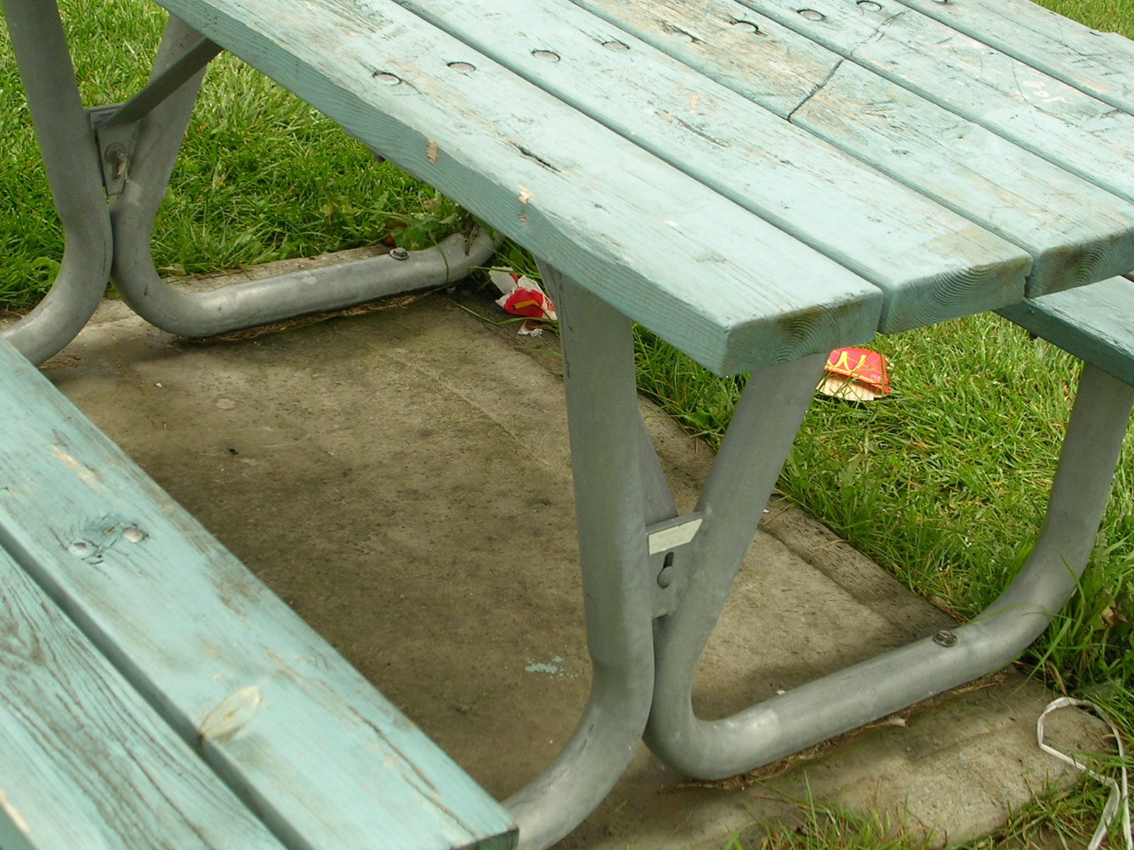 my weeds are very sorry what happened to picnic tables