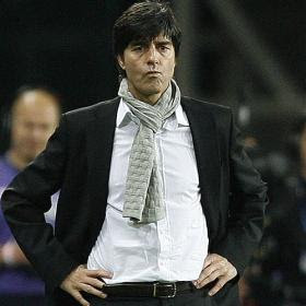 Joachim Low Coach Germany World Cup Team 2010