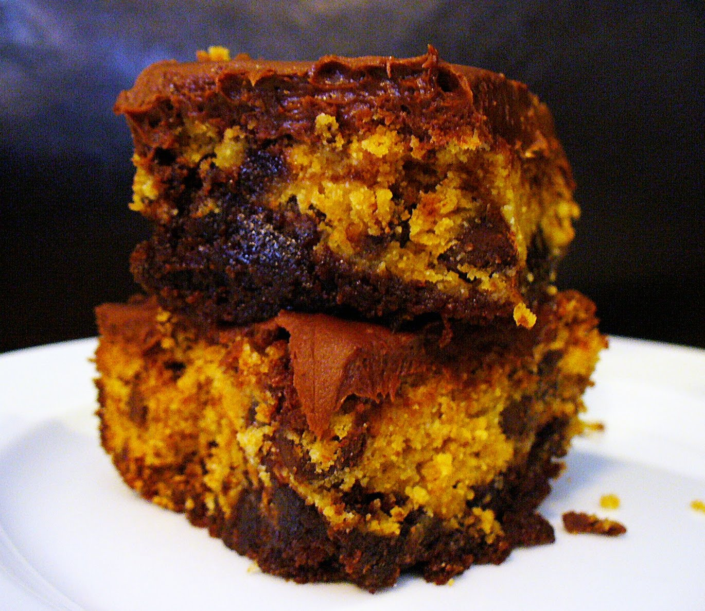 The Lonely Baker: Chocolate Chip Cookie Dough Brownies