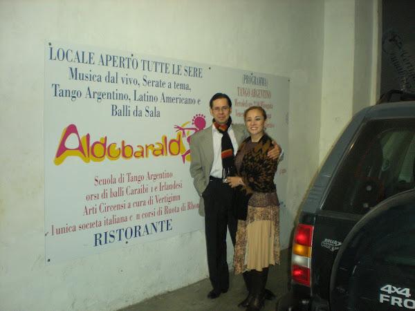 Milonga Aldobaraldo. Torino. Italia