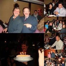 Neto comemora 50 com amigos, no Favela. Veja as fotos.