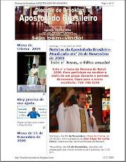 Visite o blog do Apostolado Brasileiro da Diocese de Brooklyn