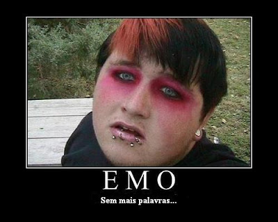 emo gay nojento gordo fat ugly
