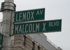 Malcolm X-Boulevard in Harlem/NY