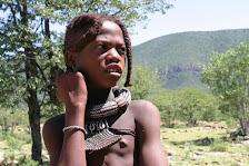Mädchen in Namibia