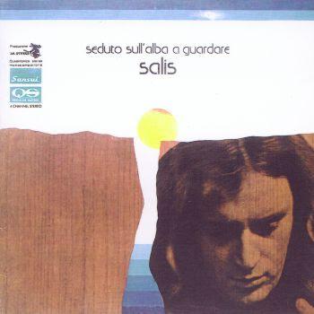 salis seduto sull'alba a guardare 1974