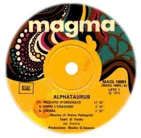 magma alphataurus 1973
