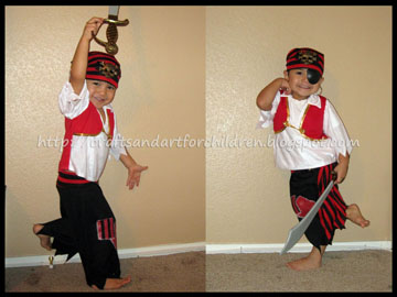 Ahoy Matey Pirate Costume for Boys