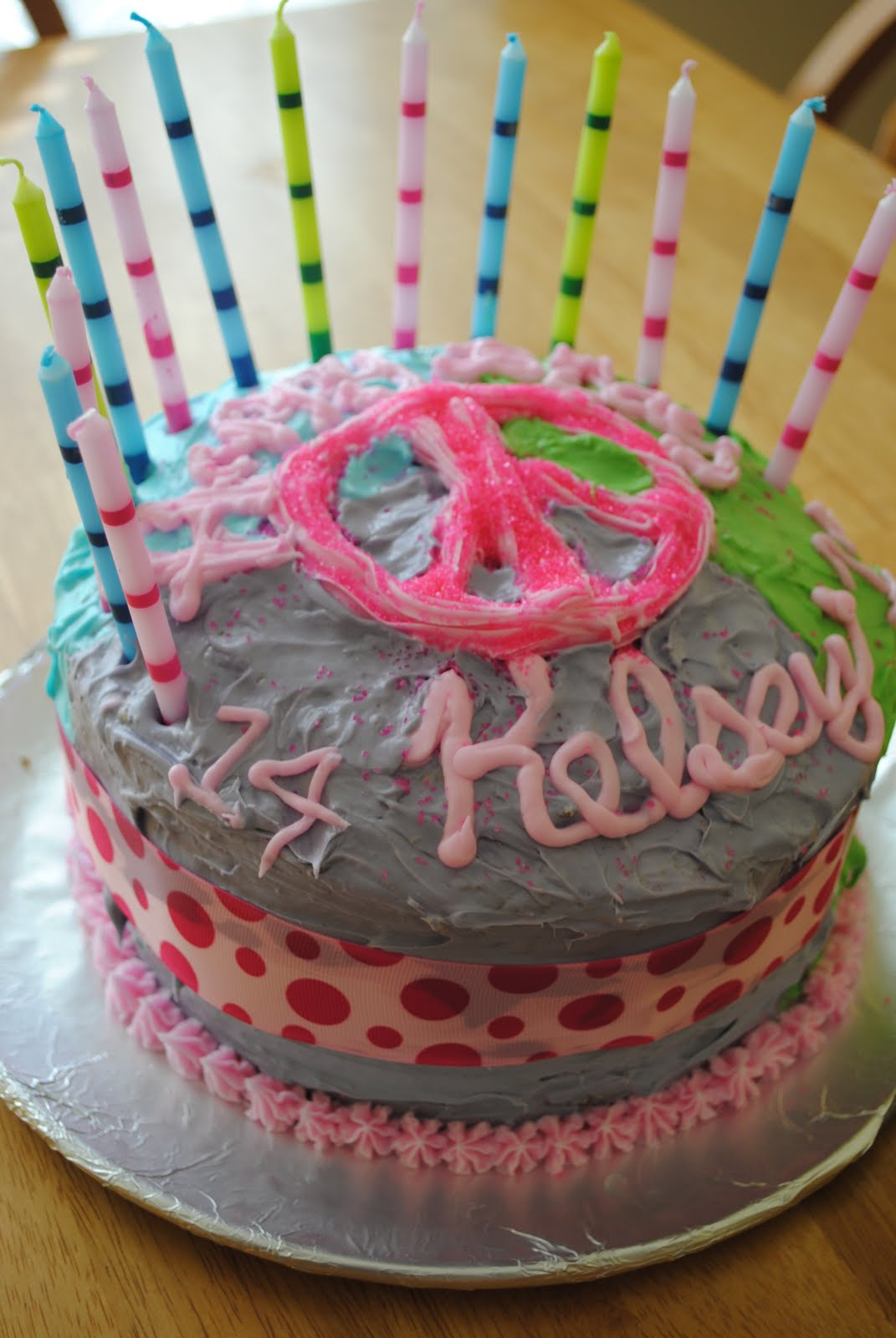 14th girl birthday cakes