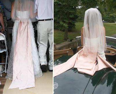 WardrobeInspired Decor Wedding Dress Drapes