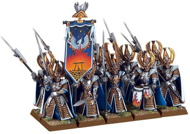 Plastic Phoenix Guard unit