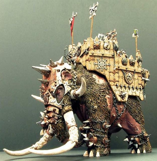 Chaos War Shrine Mammoth photo