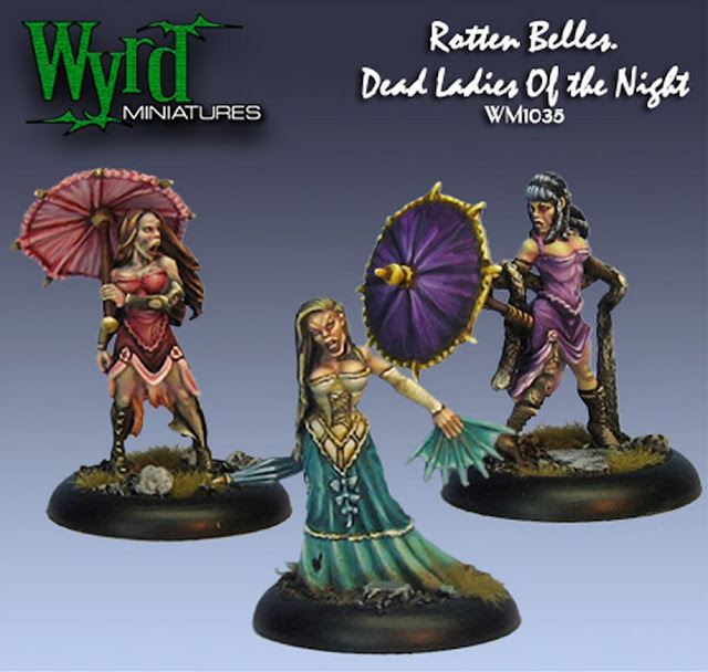 Dead Ladies miniatures
