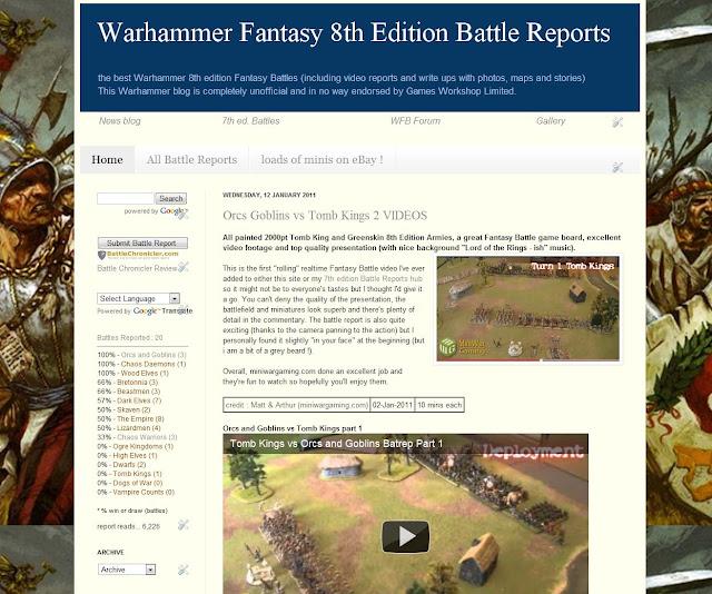 Warhammer Fantasy Bat Reps picture