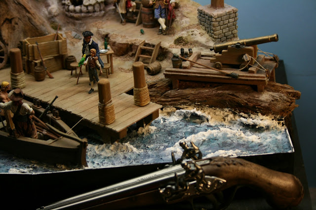 Pirate Miniature Model Diorama picture