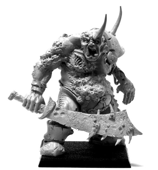 Nurgle Ogre model picture