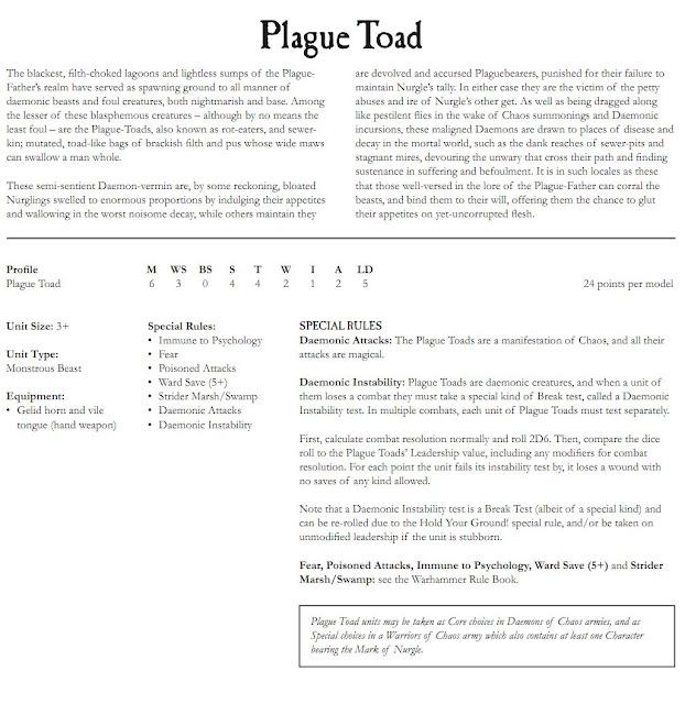 Nurgle Toad Profile image