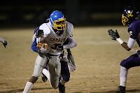 Senior Michael Brantley has 84 yards rushing on the night
