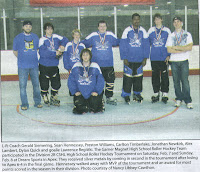Silver medalist GMHS Roller Hockey Team