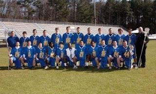 2009 Trojan Lacrosse Team