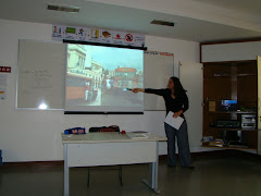 Fernanda prepared a beautiful presentation to deliver her speech about Cuba.