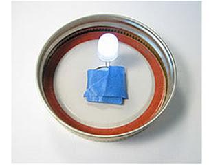 hacer manualidades como hacer lamparas. Black Bedroom Furniture Sets. Home Design Ideas