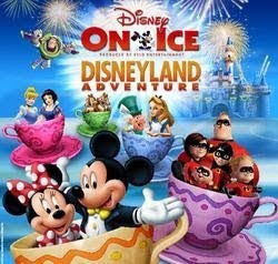Disney On Ice: Disneyland Adventure Poster