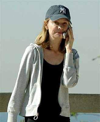 Calista Flockhart skin care