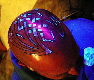 Fluorescent Tattoo