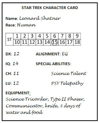 Enterprise Example Character Card
