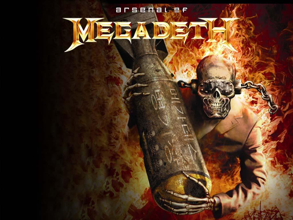 No te pierda la Discografia de Megadeth Ahora