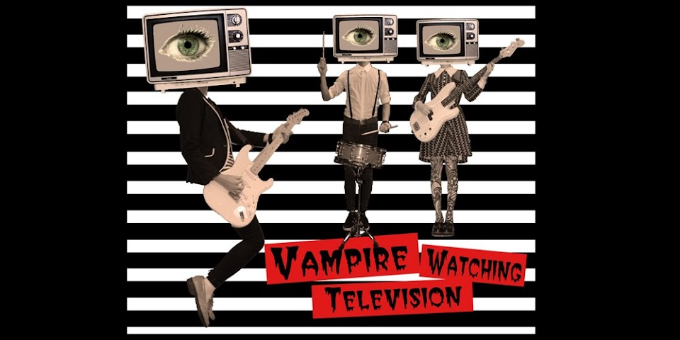  Vampire Watching Television