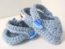 Crochet Baby Crocs